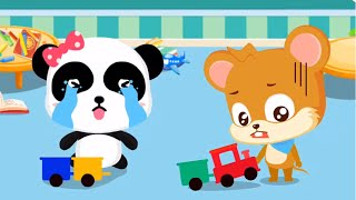 Baby Panda Play In The Birthday Party Fun & Learn The Magic Words | Babybus Kids Games