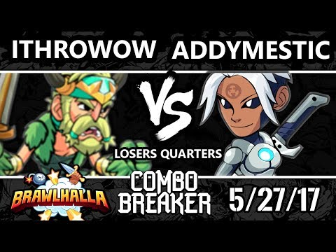 Combo Breaker 2017 Brawlhalla - STDX | iThrowow (Bodvar) vs [R]eason | Addymestic (Val) - LQ