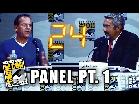 24 Comic-Con Panel 2014 - Part 1 (Kiefer Sutherland)