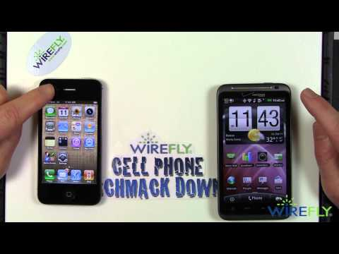 HTC ThunderBolt vs. Verizon iPhone 4 - Schmackdown!