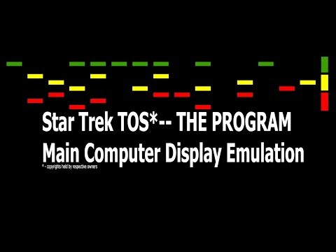 Python - Star Trek TOS Computer Simulation SOFTWARE