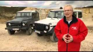 Land Rover Defender vs Mercedes G