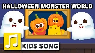 HALLOWEEN MONSTER WORLD | LARVA KIDS | SUPER BEST SONGS FOR KIDS |  HALLOWEEN SONG