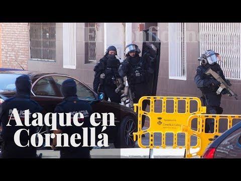 Los Mossos consideran el ataque en la comisaría de Cornellá como atentado terrorista