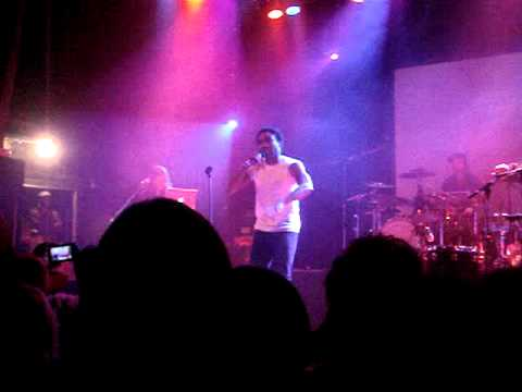 Childish Gambino - Be Alone (iamdonald Tour @ The Opera House 05/16/11)