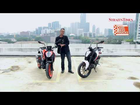 KTM Duke 250 and 390: Brothers-in-arms