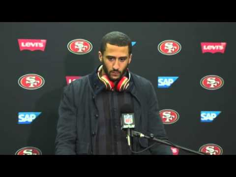 49ers Vs Raiders Postgame Press Conference - Colin Kaepernick