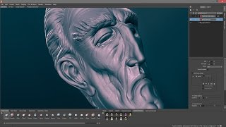 Mudbox Sculpting - Butler