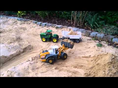 Kanalbaustelle   Sewer construction site   HC 260, Liebherr LH574 Part 2/2