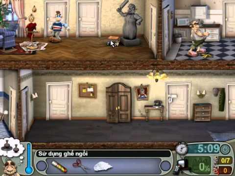 Neighbours From Hell 1 ( Người Hàng Xóm 1 ) - Màn 3 Tập 1 ( Game Việt Hóa )