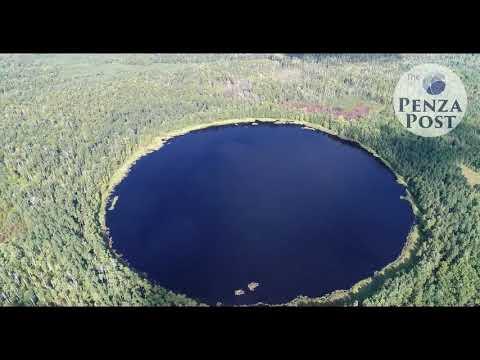 Мертвое озеро Леонидовка Пенза