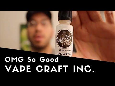 OMG So Good  by Vape Craft Inc. - Custard, Vanilla, Brown Sugar, and Cheesecake