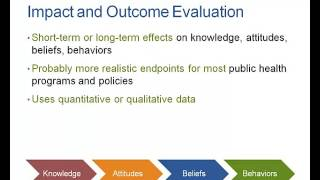 Chapter 10: Types of Program Evaluation