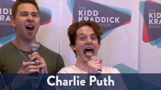 Backstage with Charlie Puth at Jingle Ball 2016! | KiddNation
