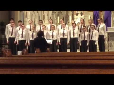 Borris Vocational School Senior Choir @ Kilkenny Music Festival 2017