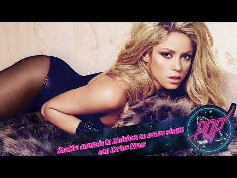 Shakira anuncia La Bicicleta Ft. Carlos Vives