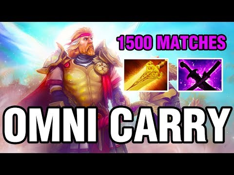 OMNI CARRY - 1500 MATCHES - Omniknight HARD CARRY - Dota 2
