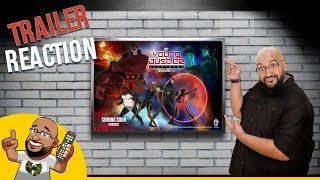Young Justice Outsiders - Official Comic-Con Trailer REACTION