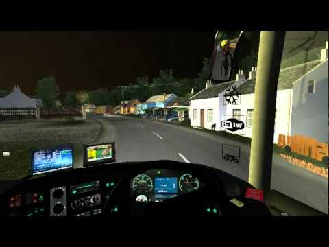 uk truck simulator busmod indonesia ( damri rc )