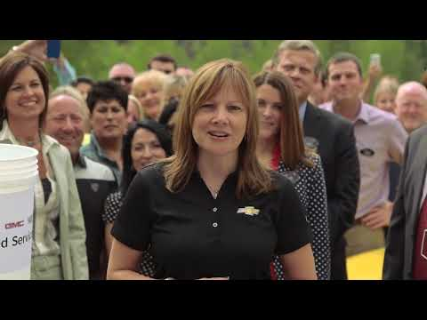GM CEO Mary Barra takes the ALS Ice Bucket Challenge