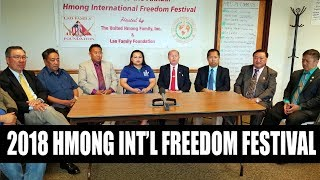 SUAB HMONG NEWS:  Announcement of 2018 Hmong International Freedom Festival