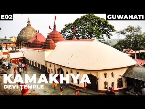 Guwahati city Vlogs - Umananda temple, kamakhya temple - Day 2