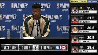 Jimmy Butler postgame reaction | Raptors vs Sixers Game 4 | 2019 NBA Playoffs
