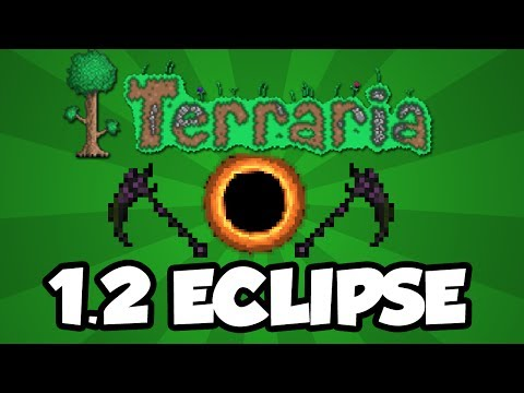 Terraria 1.2 Console Features - Solar Eclipse Event (Terraria Console 1.2 Update)