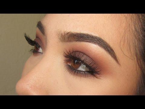 Warm Brown Smokey Eye   Kat Von D Shade and Light Eye Palette