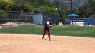 McKenna Arriola Softball Skills Video