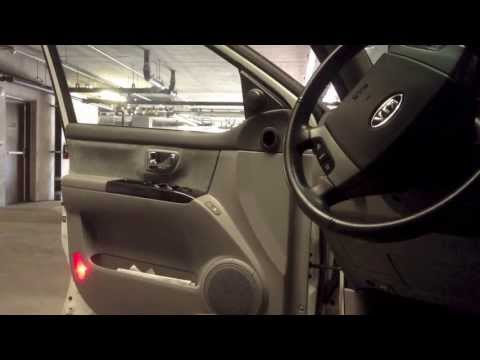 Removing Inner Door Panel On A 2008 Kia Amanti How To