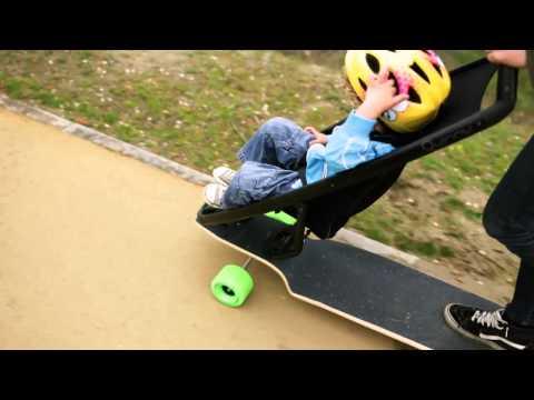 Longboard Stroller Longboard Stroller Concept