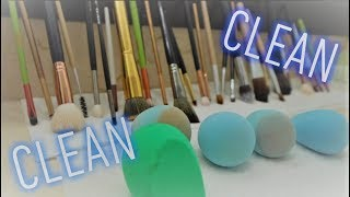 How to clean your makeup brushes and beauty blender | Eli