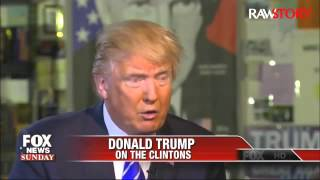 Donald Trump: Hillary Clinton was enabler,