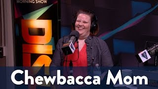 Chewbacca Mom Visits FaceBook's HQ 4/5 | KiddNation