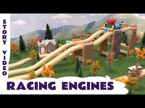 Thomas and Friends Race Track Story Toy Train Set Wooden Railway Racing Engines Thomas Tank Engine