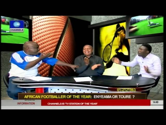 Sports Palava: Who Do You Rate African Footballer Of The Year; Enyeama Or Toure Pt 2