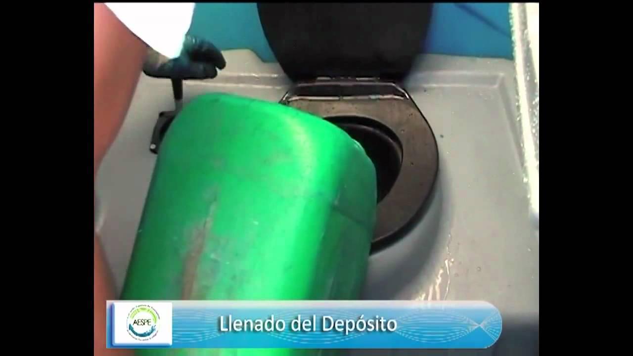 Juego De Un Baño Portatil:Limpieza-De-Bano