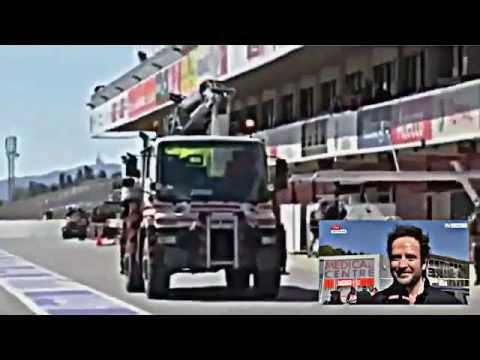 Fernando Alonso Accidente 2015-Crash accident McLaren Montmelo 2015