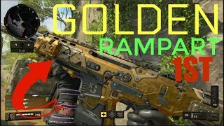 Worlds First Gold Rampart Gameplay BO4