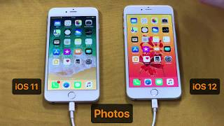 iOS 12 contre iOS11: comparaison des  performances