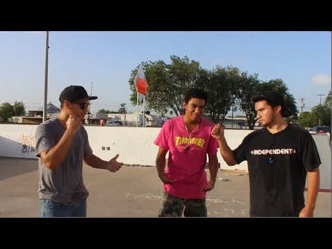 SK8WARS - Richard Gonzalez VS Carlos Nunez