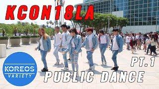Download Lagu [KPOP IN PUBLIC] KCON18LA Public Dance Set 1 - Energetic + Heartshaker + Bbboom Bboom Gratis STAFABAND