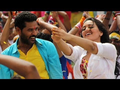 Sonakshi Sinha Learns Tamil From Prabhudeva !