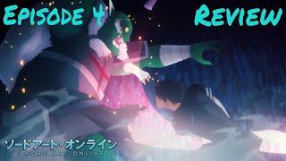 Kirito The Goblin Slayer!!! Sword Art Online Alicization Episode 4 Review!!