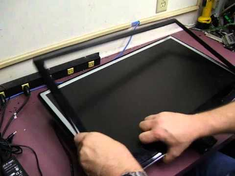 Repairing a LG W2753V-pf LCD monitor - Part 1 Disassembly