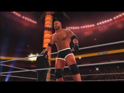 Wwe '13: Goldberg Vs Brock Lesnar - (special Referee) Stone Cold Steve Austin video