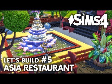 Asia Restaurant bauen #5 | Die Sims 4 Let's Build Gaumenfreuden Gameplay-Pack