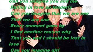 Watch 98 Degrees Can You Imagine video