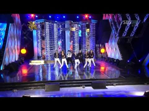 SNSD & f(x) Special - Sorry Sorry (SJ) 1/4 09 Gayo Fest.S Dec29.2009 GIRLS' GENERATION Live 720p HD Music Videos